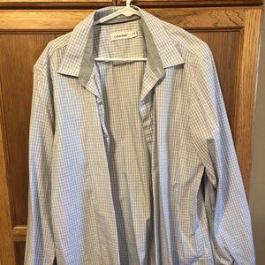 Calvin Klein Button Down dress shirt XL